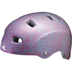 KED Risco Helmet Coral Pink